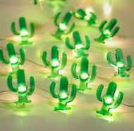 Tropical Micro LED Lights - Cactus