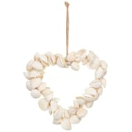 Shell Heart Hanging Decoration