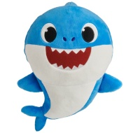 Plush Baby Shark - Blue