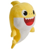 Plush Baby Shark - Yellow