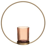 Blush Gold Candle Holder