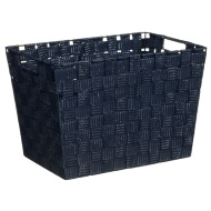 Tapered Storage Basket - Navy