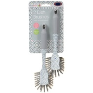 Dish Brushes 2pk - Geo