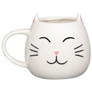 Pearlised Animal Mug - Cat