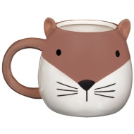 Pearlised Animal Mug - Fox
