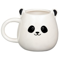 Pearlised Animal Mug - Panda