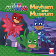 PJ Masks Book - Mayhem at the Museum