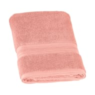 Signature Zero Twist Bath Towel - Blush