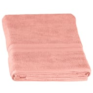 Signature Zero Twist Bath Sheet - Blush
