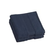 Signature Zero Twist Face Cloth - Navy