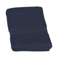 Signature Zero Twist Bath Towel - Navy