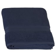 Signature Zero Twist Bath Sheet - Navy