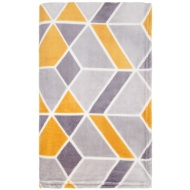 Supersoft Geo Throw - Ochre