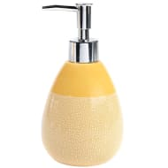 Skandi Crackle Glaze Soap Dispenser