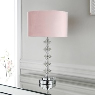 Victoria Crystal Table Lamp