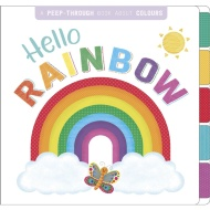 Peep Through Book - Hello Rainbow