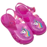 Girls Unicorn Jelly Shoes