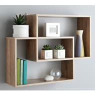Lokken Display Wall Shelf - Oak