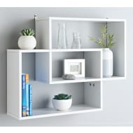 Lokken Display Wall Shelf - White