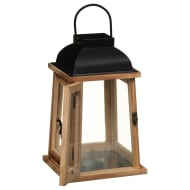 Heritage Wooden Lantern - Natural