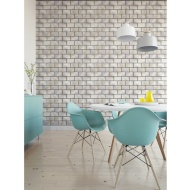 Subway Gloss Tile Wallpaper