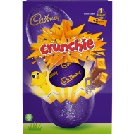 Cadbury Crunchie Large Easter Egg 258g