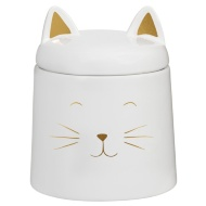 Cat Shaped Storage Jar - Large