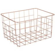 Metallic Collection Storage Basket