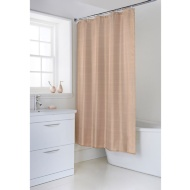 Metallic Collection Shower Curtain - Rose Gold