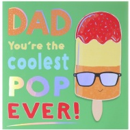 Father's Day Card - Coolest Pop