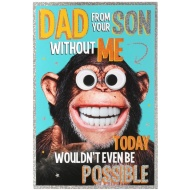 Father's Day Card - Monkey
