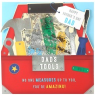 Father's Day Card - Dad's Tools