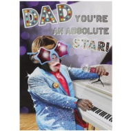 Father's Day Card - Absolute Star