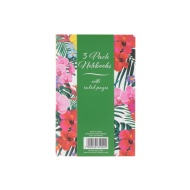 Fashion Notebooks 3pk - Floral