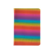 A6 Holographic Rainbow Notebook