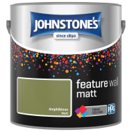 Johnstone's Feature Wall Matt Paint 2.5L - Amphibious