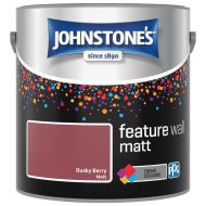 Johnstone's Feature Wall Matt Paint 2.5L - Dusky Berry