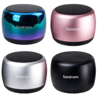 Goodmans Metal Series Bluetooth Speaker - Rose Gold