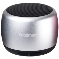 Goodmans Metal Series Bluetooth Speaker - Silver