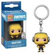 Pop! Fortnite Keychain - Raptor