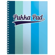 A4 Striped Jotter Pad - Blue