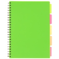A4 Project Book - Green