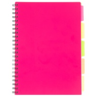 A4 Project Book - Pink