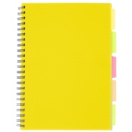 A4 Project Book - Yellow