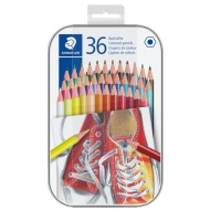 Staedtler Coloured Pencils in Tin 36pk