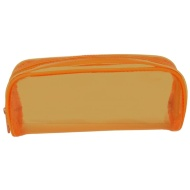 Jelly Tinted Pencil Case - Orange