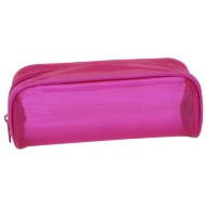 Jelly Tinted Pencil Case - Pink