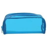 Jelly Tinted Pencil Case - Blue