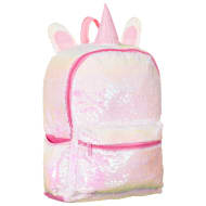 Animal Sequin Backpack - Unicorn