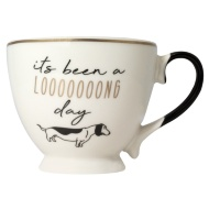 Dog Slogan Mug - Loooong Day